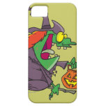 silly goofy halloween witch toon iPhone 5 case