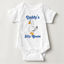Silly Goose Custom Kids Shirt - Blue Text
