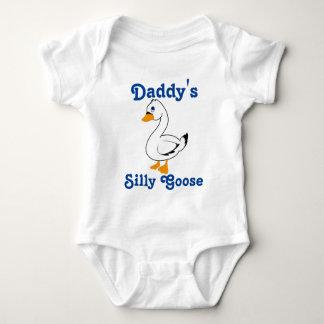 Silly Goose Custom Kids Shirt - Blue Text