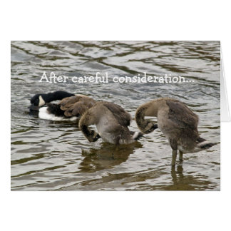 Silly Goose Love Card