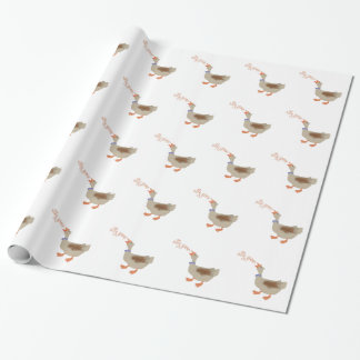 Silly Goose Gift Wrap