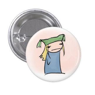 Silly Hat 1 Inch Round Button