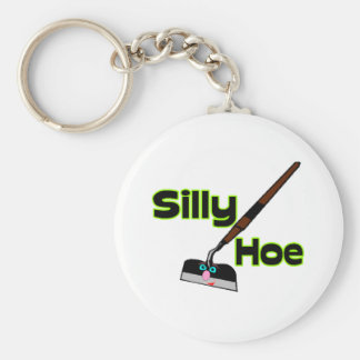 Silly Hoe Keychain