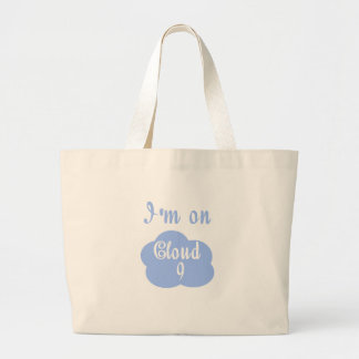 Silly I'm on cloud nine t-shirts and gifts. Canvas Bags