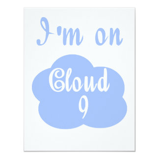 Silly I'm on cloud nine t-shirts and gifts. Invitations