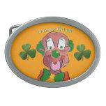 Silly Irish Clown Buckle Belt Buckles