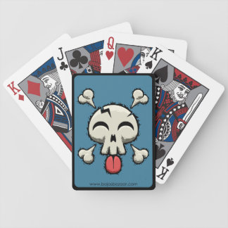 Silly Jolly Roger Bicycle Playing Cards