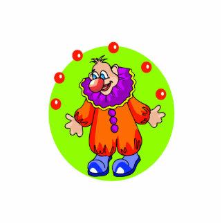 Silly Juggling Clown Cutout