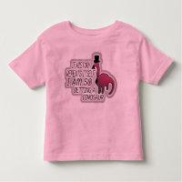 Silly Kid's T, Pet Dinosaur Toddler T-shirt