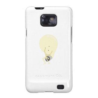 Silly Lightbulb Galaxy SII Case