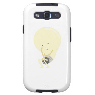 Silly Lightbulb Galaxy S3 Covers