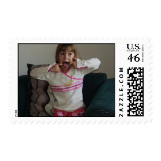 silly lily jpg postage stamps