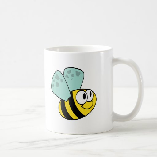silly little bumble bee mugs