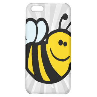 silly little bumble bee smiling cartoon character iPhone 5C cases