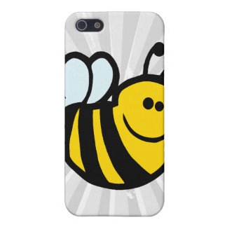 silly little bumble bee smiling cartoon character cover for iPhone 5