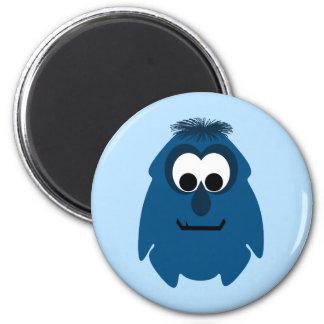 Silly Little Dark Blue Monster Magnets