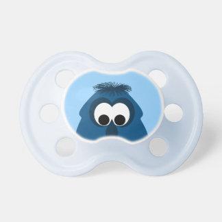 Silly Little Dark Blue Monster Pacifier