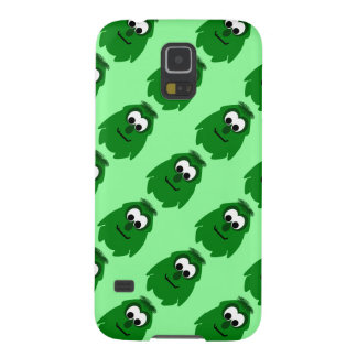 Silly Little Dark Green Monster Case For Galaxy S5