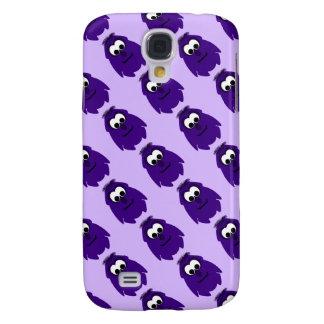 Silly Little Dark Purple Monster Samsung Galaxy S4 Covers