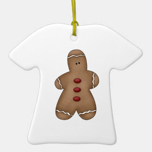 silly little gingerbread cookie christmas ornament