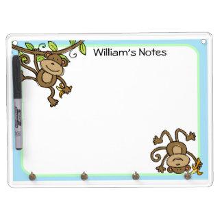 Silly Little Monkeys Dry Erase Board