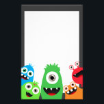 "Silly Little Monsters Stationery<br><div class=""desc"">These cute monster friends are a great way to say hello or send a thank you note if paired with other Monster Bash products! Look for the coordinating designs in our shop!</div>"
