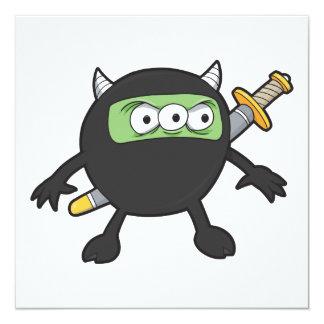 silly little ninja monster card