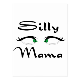 Silly Mama Postcard