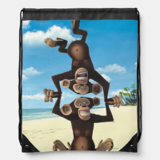 Silly Mason and Phil Drawstring Backpack