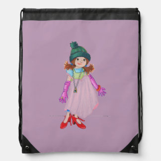 Silly McGilly Drawstring Bag