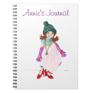 Silly McGilly Girls Journal - Personalize it!