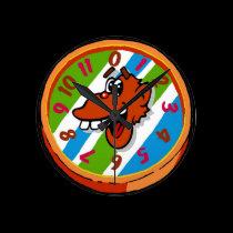 Silly Monkey Clock wall clocks
