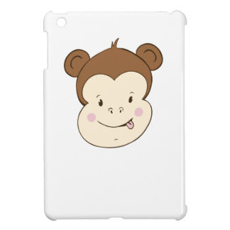Silly Monkey Face iPad Mini Covers