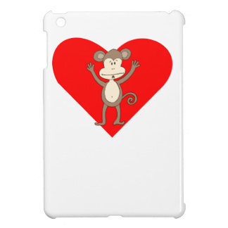 Silly Monkey Heart Case For The iPad Mini