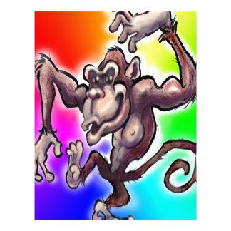 Silly Monkey Letterhead