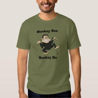 Silly Monkey - Monkey See Monkey Do Shirt