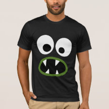 Silly Monster Face for Halloween T-Shirt