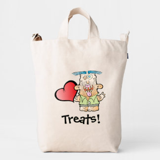 Silly Monster's Even More Mushy BAGGU Canvas Bag