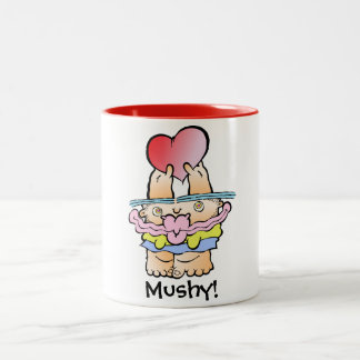 Silly Monster's Very Mushy Two Tone Mug