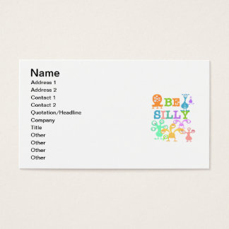 Silly Monsters Business Card