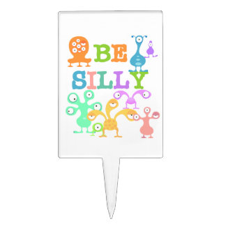 Silly Monsters Cake Topper