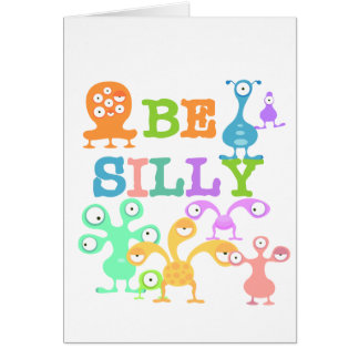 Silly Monsters Card