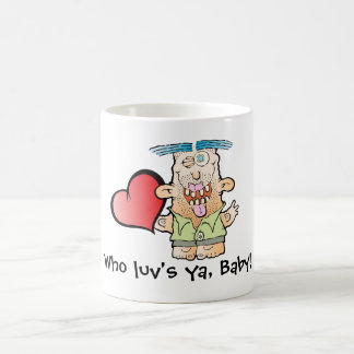 Silly Monster's Even More Mushy Coffee Mug