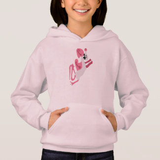 Silly Mouse, In Color Hoodie