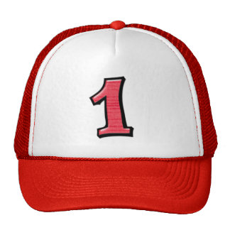 Silly Numbers 1 red Hat
