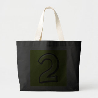 Silly Numbers 2 green Bag