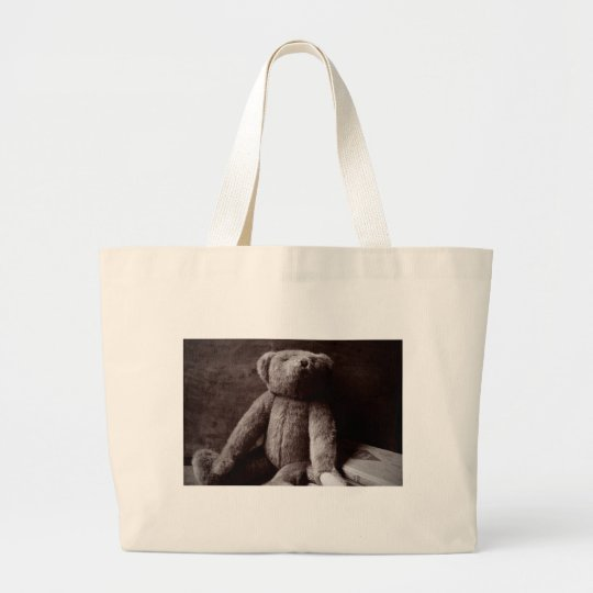 Silly Old Bear Large Tote Bag