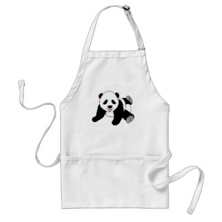 Silly Panda Aprons