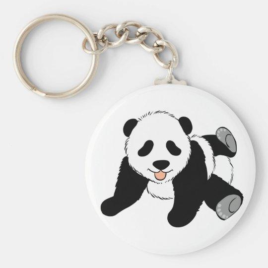 Silly Panda Keychain