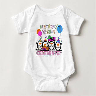 Silly Penguins 1st Birthday Tshirts and Gifts